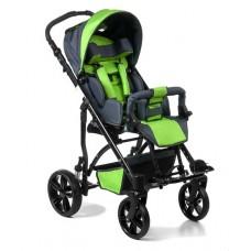 Кресло-коляска JUNIOR  для детей-инвалидов и детей с ДЦП, ширина сиденья 35 см, грузоподъемность до 30 кг, вес 21 кг, цветовая гамма в ассортименте, колеса по выбору: пневмо или литые