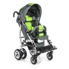 Кресло-коляска UMBRELLA для детей-инвалидов и детей с ДЦП, ширина сиденья 35 см, грузоподъемность до 30 кг, вес 15 кг, цветовая гамма в ассортименте, колеса по выбору: пневмо или литые