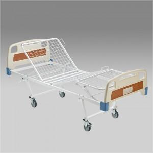 Кровать функциональная механическая МММ 104 с подъемником и боковым ограждением