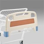 Кровать функциональная механическая МММ 104 с подъемником и боковым ограждением, четерехсекционная, с регулировкой угла наклона