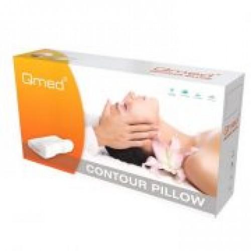 Подушка ортопедическая под голову CONTOUR PILLOW MDQ00110_3 плотность 80 кг/м3, цвет белый, размер по выбору: S,M,L