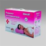 Анатомическая подушка для сна с памятью положения КОМФ-ОРТ К-800 , с выемкой
