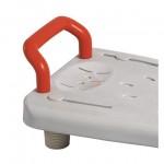 Пластиковое сиденье для ванны DRVW_048, нагрузка до 100 кг