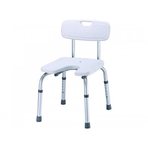 """Сиденье-стул для ванны """"VIOLET LY-1006"""" с U-образным вырезом, рабочая ширина 43 см, грузоподъемность 100 кг"""