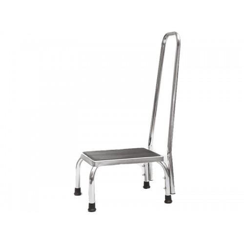 Сиденье-ступень для ванны и душа с поручнем IRIS LY-1089-2, размер 43*83*34 см