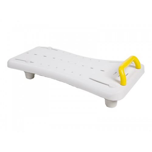 """Сиденье-доска для ванны с желтой ручкой """"ASTER LY-200-072"""" (71*21 см, грузоподъемность 120 кг)"""