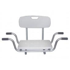 """Сиденье со спинкой для ванны """"KAMILLE LY-200-5014W"""" грузоподъемность 120 кг"""