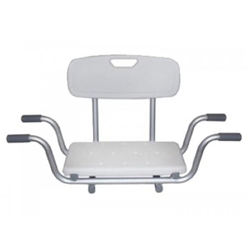 """Сиденье для ванны со спинкой """"KAMILLE LY-200-5014W"""", грузоподъемность 120 кг"""