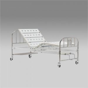 Кровать функциональная механическая RS104-A  с принадлежностями, четырехсекционная, с регулировкой угла наклона