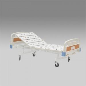 Кровать функциональная механическая RS105-A с принадлежностями, четырехсекционная, с регулировкой угла наклона