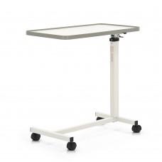 Стол прикроватный  YU611, белый, с регулировкой по высоте, на колесах, грузоподъемность 13,6 кг, вес 10 кг
