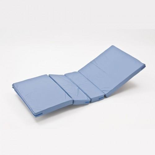 Матрас для функциональной кровати, четырехсекционный, с чехлом, грузоподъемность 125 кг, вес 4 кг