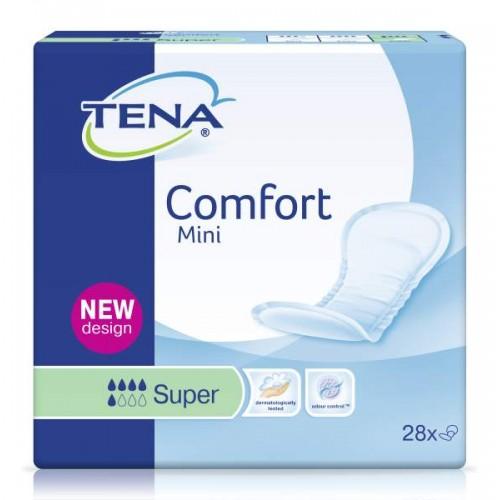 Прокладки одноразовые TENA Comfort Mini Super, 28шт./уп.
