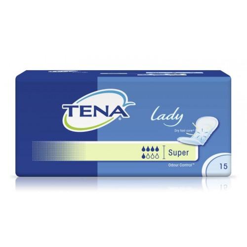 Прокладки ежедневные TENA Lady Super, 15 шт./уп.
