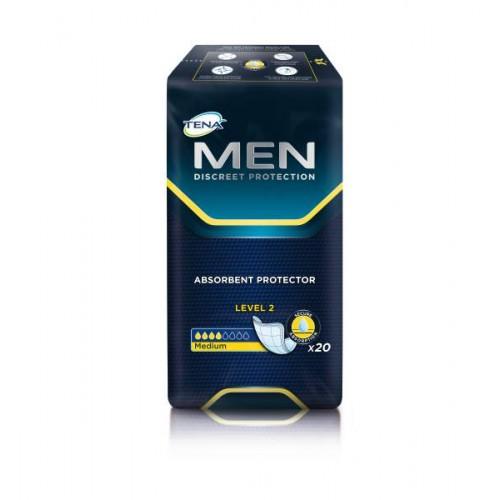 Прокладки урологические мужские TENA Men, Уровень 2, 20 шт./уп.