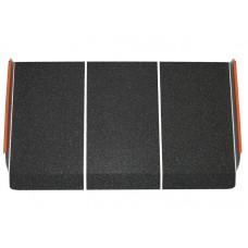 Пандус металлический с абразивным покрытием, длина 40 см (LY-6105-1-40)