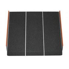 Пандус металлический с абразивным покрытием, длина 60 см (LY-6105-1-60)