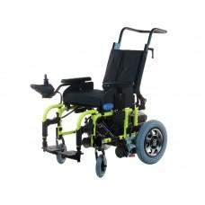 Детская инвалидная коляска LY-EB103-K200 с электроприводом, грузоподъемность 80 кг, вес 58 кг