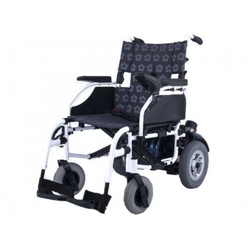 Кресло-коляска инвалидная  EB103-101 универсальная c ручным и электроприводом, шир. сид. 45 см, грузоподъемность 120 кг, вес 44 кг