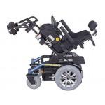 Кресло-коляска инвалидная Cyrius LY-EB103-XL с электроприводом, с регулировкой ширины сиденья от 46  до 60 см, повышенной грузоподъемности до 205 кг, вес 125 кг