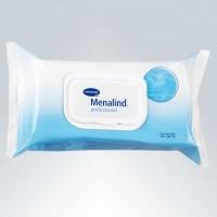 Влажные гигиенические cалфетки MENALIND professional/NEW 50 листов с антисептическим и противовоспалительным эффектом для ежедневного ухода за больными