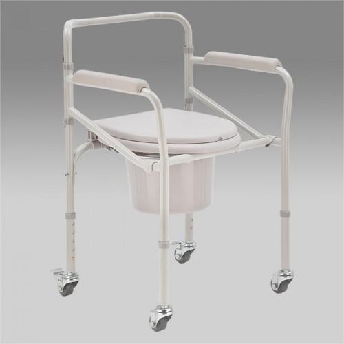 Механическая кресло-коляска Н023В с санитарным оснащением для инвалидов