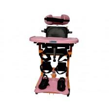 """Опора-вертикализатор """"Тигр"""" со столом,  для детей-инвалидов и детей с ДЦП, максимальная грузоподъемность 80 кг, вес 22 кг"""