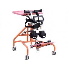 """Опора-вертикализатор """"Попугай"""" со столом,  для детей-инвалидов и детей с ДЦП, максимальная грузоподъемность 80 кг, вес 26 кг"""