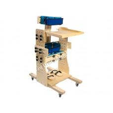 """Опора-вертикализатор """"Водолей""""  со столом,  для детей-инвалидов и детей с ДЦП, максимальная нагрузка 80кг, вес 25 кг"""