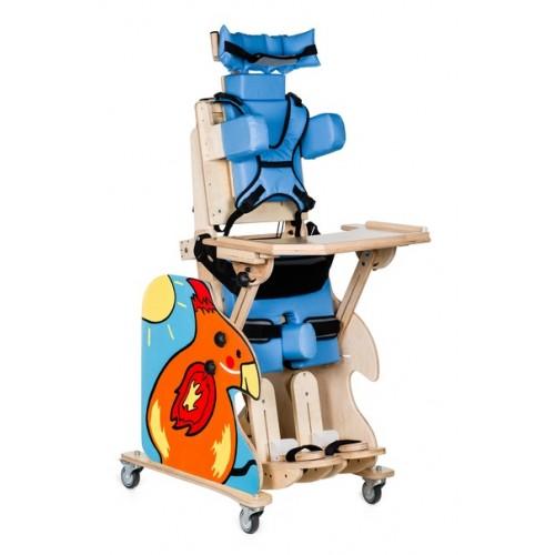 """Деревянное кресло-вертикализатор """"RAINBOW"""" для детей с ДЦП (размер R)"""