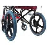 Инвалидная кресло-каталка LY-800-032, ширина сиденья 37 см,  грузоподъемность до 100 кг, вес 10 кг