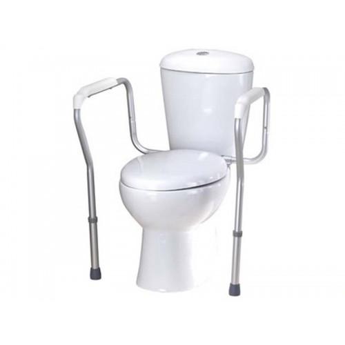 """Опорный поручень для ванной комнаты и туалета с регулировкой по высоте и ширине """"PROFI-MINI"""" (LY-3004)"""