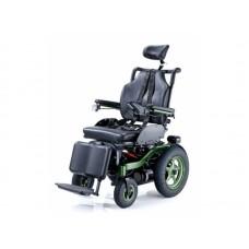 Кресло-коляска инвалидная BRONCO LY-EB103-207, с электроприводом и функцией полулежачего положения, грузоподъемность 130 кг, вес 120 кг