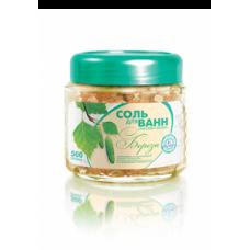 Соль для ванн «Малавит-Флора» с экстрактом березы, 500 г
