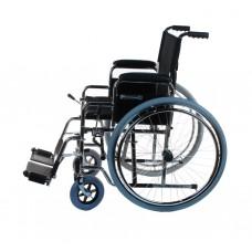 Кресло коляска инвалидная  LY-250-J механическая, с ручным приводом, складная, ширина сиденья 40 см, допустимая нагрузка 100 кг, вес 18,8 кг