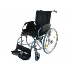 Кресло-коляска инвалидная LY-250-0956  механическая, с ручным приводом, складная, ширина сиденья 45 см, допустимая нагрузка 120 кг, вес 19 кг