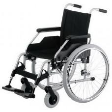 Кресло-коляска 9.050 BUDGET механическая для инвалидов, складная рама; вес 18,5 кг, максимальная нагрузка до 130 кг, ширина сиденья по выбору: 38, 40, 43, 46, 48, 51 см