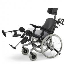 Кресло-коляска 9.075 SOLERO LIGHT  механическая для инвалидов с расширенными опциями, складная; вес 18,5 кг, максимальная нагрузка до 130 кг
