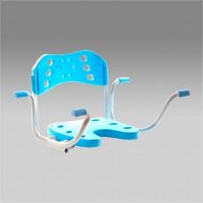 Сиденье для туалетной комнаты неповоротное FS допустимая нагрузка 115 кг (000352)