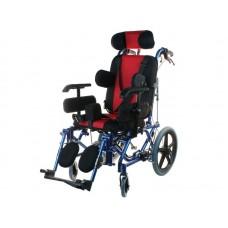 Кресло-коляска инвалидная детская  LY-710-958, с принадлежностями, ширина сиденья регулируемая 36-46 см