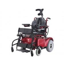 Инвалидная коляска LY-EB103-220 с функцией вертикализатора, электропривод, грузоподъемность 120 кг, вес 95 кг