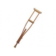 """Костыль опорный, регулируемый по высоте """"KRONE-GROSS"""", деревянный, размер L (LY-611)"""