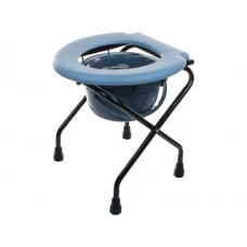 Кресло-туалет Akkord-Mini LY-2001 для инвалидов без опоры для спины, рабочая ширина 38 см, максимальная нагрузка 120 кг, вес 3 кг