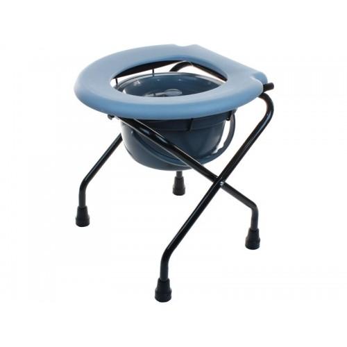 Кресло-туалет Akkord-Mini для инвалидов без опоры для спины, рабочая ширина 38 см  (LY-2001)