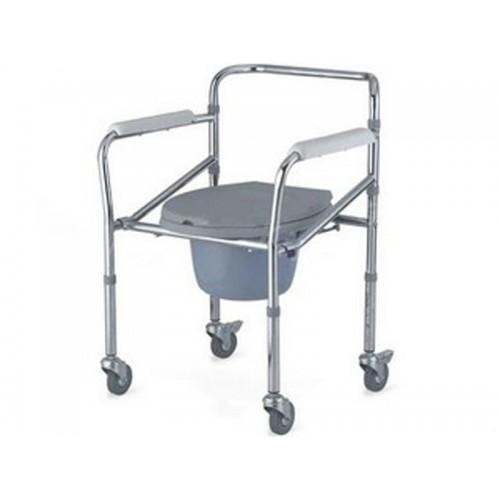 Кресло-туалет с опорной рамой на колесах Akkord LY-2003