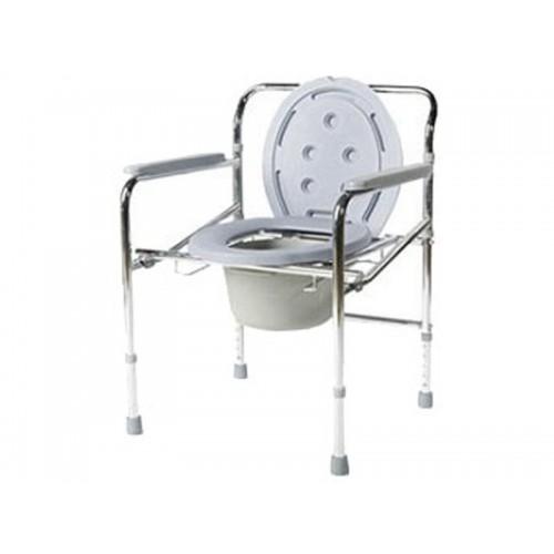 Кресло-туалет Akkord-Midi LY-2012 с опорной рамой и несъемными подлокотниками