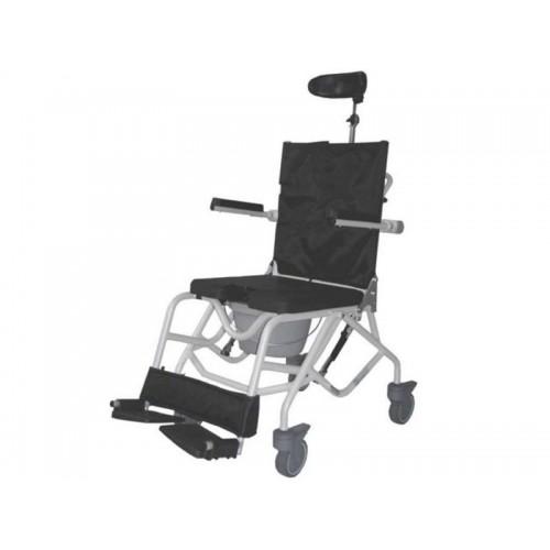 Кресло-туалет для инвалидов с регулировкой угла наклона сиденья Baja-LY-800-140009