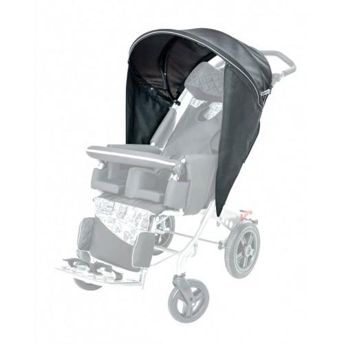 Складной навес с боковыми заслонками RCR_420 для детской коляски РЕЙСЕР RC
