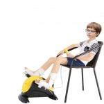Педальный детский реабилитационный тренажер MINI BIKE LY-901-FC с электродвигателем и реверсионной функцией