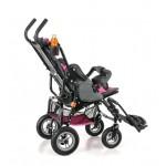 Кресло-коляска OPTIMUS для детей-инвалидов и детей с ДЦП, складная, облегченная алюминиевая рама, литые колеса, вес 18,5 кг, допустимая нагрузка до 60 кг, цвет в ассортименте